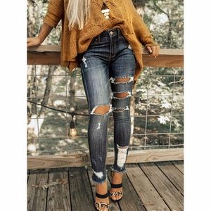 Denim - BERNICE distressed skinny Jeans